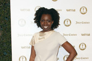 "Actress Adepero Oduye attends the Vanity Fair and Juicy Couture ""Vanities"" 20th Anniversary at Siren Studios on February 20, 2012 in Hollywood, California."