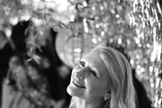 Image has been shot in black and white. Color version not available.) Patricia Clarkson attends Vanity Fair and Lancôme Toast Women in Hollywood on February 06, 2020 in Los Angeles, California.