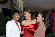 (L-R) Tiffany Haddish, Zendaya, Olivia Munn, Vanity Fair x Lancôme Paris With Belvedere Vodka Raise A Glass To Toast Women In Hollywood on February 21, 2019 in Los Angeles, California.