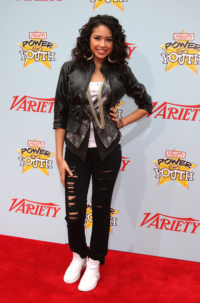 Jasmine V Singer Jasmine V arrives at Variety's 3rd Annual Power of Youth Event at Paramount Studios, on December 5, 2009 in Los Angeles, California.