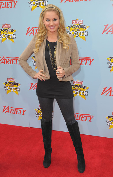 "Tiffany Thornton Actress Tiffany Thornton arrives at Variety's 3rd annual ""Power of Youth"" event held at Paramount Studios on December 5, 2009 in Los Angeles, California."