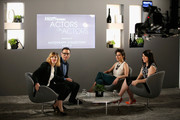 (L-R) Actors Carrie Brownstein, Fred Armisen, Ilana Glazer and Abbi Jacobson speak during Variety Studio Actors on Actors presented by Autograph Collection Hotels on March 29, 2015 in Los Angeles, California.
