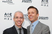 """Managing Editor of Entertainment Weekly Jess Cagle (L) and agent Joe Machota attend Variety's """"New York: Capital Of Content"""" during the 2013 Tribeca Film Festival on April 24, 2013 in New York City."""