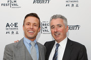 """Agent Joe Machota (L) and Alan Gold attend Variety's """"New York: Capital Of Content"""" during the 2013 Tribeca Film Festival on April 24, 2013 in New York City."""