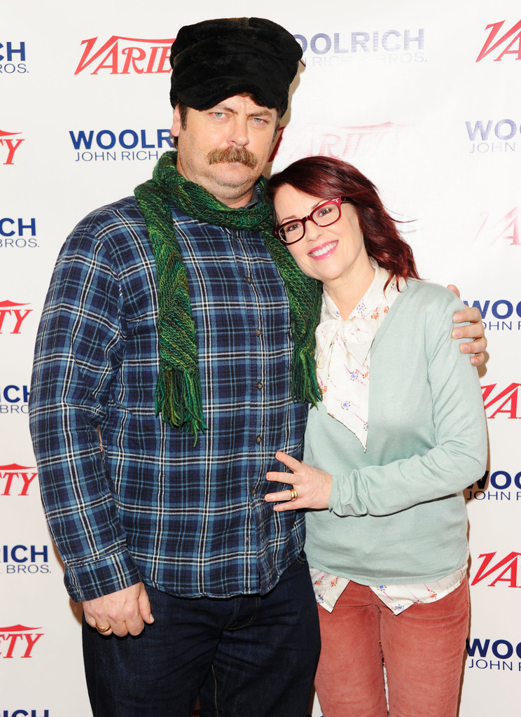 Megan Mullally and Nick Offerman Photos Photos - The ...