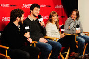 (L-R) Actor Danny Masterson, writer/director Marshall Lewy, actress Alexia Rasmussen and actor Robert Carlyle attend Day 4 of The Variety Studio during the 2012 Sundance Film Festival  held at Variety Studio At Sundance on January 24, 2012 in Park City, Utah.