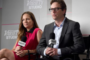 Producer Susan Downey and Director David Dobkin and attends the Variety Studio presented by Moroccanoil at Holt Renfrew during the 2014 Toronto International Film Festival on September 5, 2014 in Toronto, Canada.