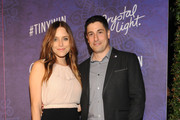 Actress/writer Jenny Mollen (L) and actor Jason Biggs attend Variety and Women in Film Emmy Nominee Celebration powered by Samsung Galaxy on August 23, 2014 in West Hollywood, California.