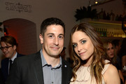 (L-R) Actors Jason Biggs and Jenny Mollen attend Variety and Women in Film Emmy Nominee Celebration powered by Samsung Galaxy on August 23, 2014 in West Hollywood, California.