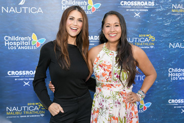 Veena Crownholm Nautica Malibu Triathlon And Children's Hospital Los Angeles Benefit Dinner