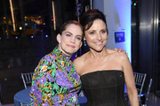"""Anna Chlumsky and Julia Louis-Dreyfus attend The """"Veep"""" Season 7 premiere after party at Alice Tully Hall, Lincoln Center on March 26, 2019 in New York City."""