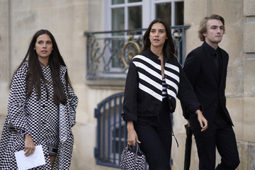 Vera Arrivabene Christian Dior: Outside Arrivals - Paris Fashion Week - Haute Couture Spring Summer 2018