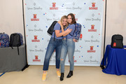 Lauren Alaina and Bailee Madison attend Vera Bradley x Blessings In A Backpack event on August 28, 2019 in Nashville, Tennessee.