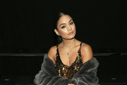 Vanessa Hudgens attends the Vera Wang front row during New York Fashion Week on September 10, 2019 in New York City.