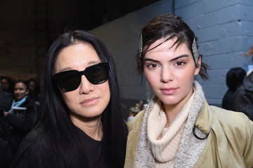 Vera Wang Vera Wang Collection - Backstage - Mercedes-Benz Fashion Week Fall 2015