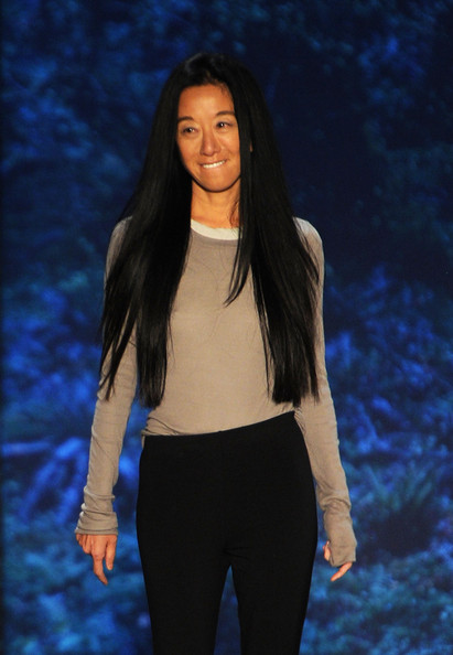 Designer Vera Wang on the runway at the Vera Wang Spring 2011 fashion show during Mercedes-Benz Fashion Week at The Stage at Lincoln Center on September 14, 2010 in New York City.