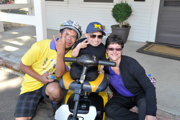 Verne Troyer Best Buddies Challenge Hearst Castle Friendship Races