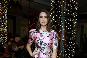 Bailee Madison attends the Veronica Beard fashion show during February 2020 - New York Fashion Week: The Shows on February 10, 2020 in New York City.