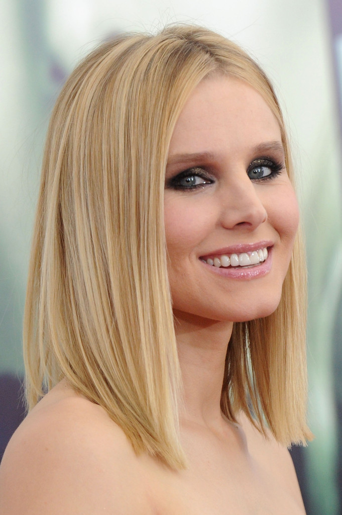 Hair Envy Of The Day Kristen Bell S Perfect Clavicut