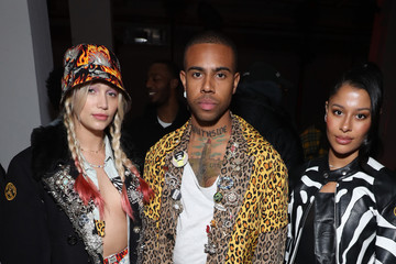 Vic Mensa R13 - Front Row - February 2020 - New York Fashion Week: The Shows