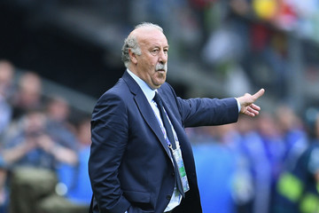 Vicente del Bosque Italy v Spain - Round of 16: UEFA Euro 2016