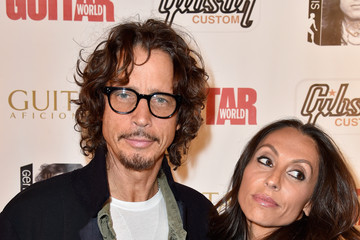 Vicky Karayiannis An Evening With Jimmy Page And Chris Cornell In Conversation - Arrivals