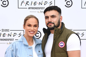Vicky Pattison Ercan Ramadan Comedy Central's FriendsFest: London - Photocall