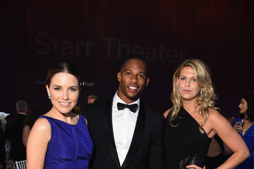 Victor Cruz Celebrities Attend the 2015 Fragrance Foundation Awards