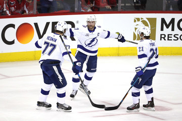 Victor Hedman Tampa Bay Lightning Vs. Washington Capitals - Game Four
