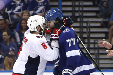 Victor Hedman Washington Capitals vs. Tampa Bay Lightning - Game Two