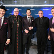 Victor Micallef Cardinal Timothy Dolan Visits SiriusXM for SiriusXM's Christmas Special