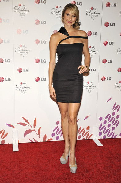 Stacey Kiebler poses for a picture at the Victoria Beckham and Eva Longoria Parker Night of Fashion & Technology with LG Phones event held at Soho House on May 24, 2010 in West Hollywood, California.
