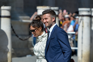 Victoria Beckham Sergio Ramos And Pilar Rubio Wedding In Seville