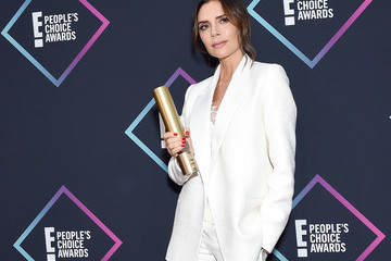 Victoria Beckham People's Choice Awards 2018 - Press Room