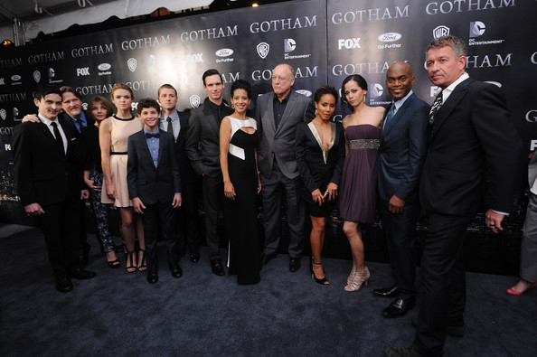 Photo of John Doman & his friend actress  Victoria Cartagena - Casting Gotham
