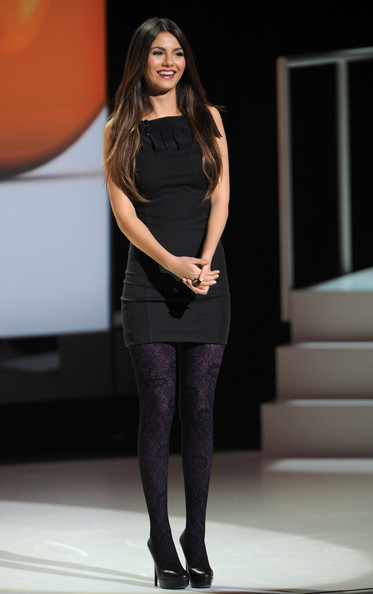 Victoria Justice Victoria Justice speaks during the 2011 Nickelodeon Upfront Presentation at Jazz at Lincoln Center on March 10, 2011 in New York City.