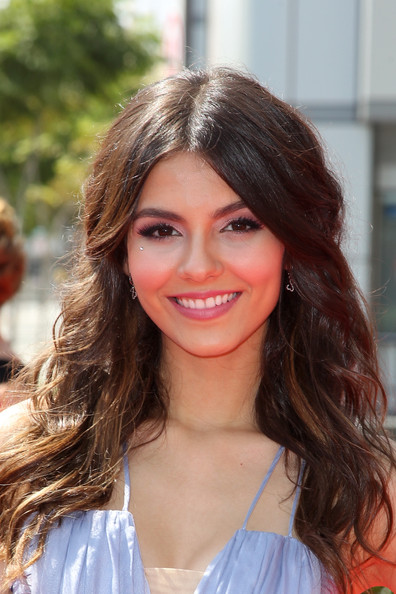 Victoria Justice Victoria Justice attends the 2011 Primetime Creative Arts Emmy Awards at Nokia Theatre on September 10, 2011 in Los Angeles, California.