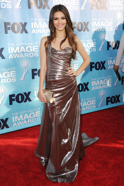 Victoria Justice - 42nd NAACP Image Awards - Arrivals