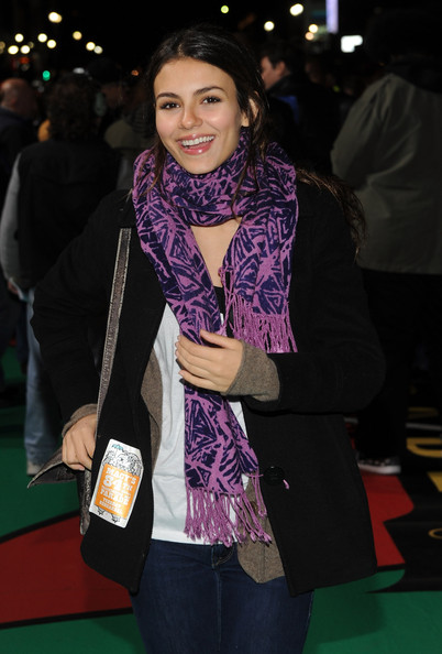 Victoria Justice Actress/singer Victoria Justice attends the 84th Annual Macy's Thanksgiving day parade rehearsal at Macy's Herald Square on November 23, 2010 in New York City.