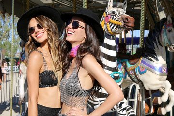 Victoria Justice Madison Reed #REVOLVEfestival Day 1