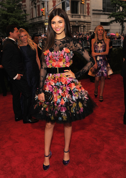 "Victoria Justice - NY: ""Schiaparelli And Prada: Impossible Conversations"" Costume Institute Gala"