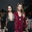 Victoria Justice Pamella Roland - Front Row - February 2020 - New York Fashion Week