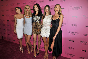 "Adriana Lima Erin Heatherton Victoria's Secret's 6th Annual ""What Is Sexy? List: Bombshell Summer Edition"" Celebration"