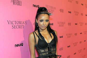 Kat Graham Victoria's Secret Bombshells Celebrate The Reveal Of The What Is Sexy? List At The Beverly In Los Angeles