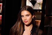 Angel Sara Sampaio attends as Victoria's Secret debuts new fall collection on August 08, 2019 in Chicago, Illinois.