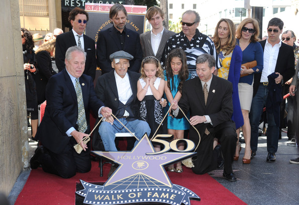 Dennis Hopper Honored On The Hollywood Walk Of Fame