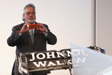 Vijay Mallya Sahara Force India Formula One Team Launch