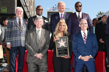 Vin Di Bona Mary J. Blige Is Honored With a Star on the Hollywood Walk of Fame