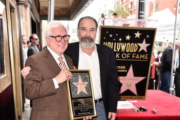 Vin Di Bona Mandy Patinkin Honored With Star on the Hollywood Walk of Fame