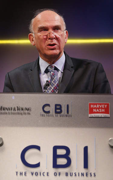 Speakers Address The Annual CBI Conference